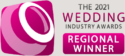 The 2021 Wedding Industry Awards Regional Winner